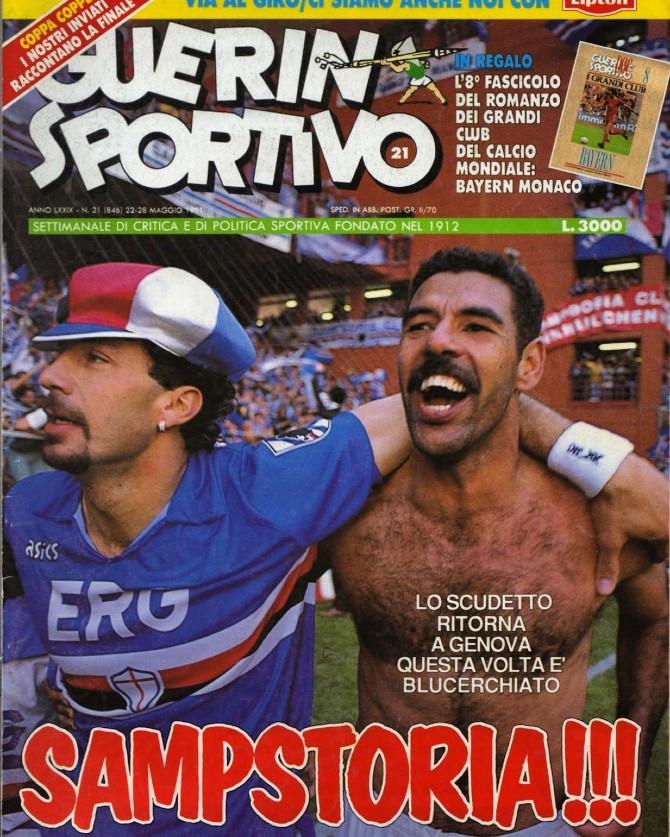 Ιταλικό ποδόσφαιρο: Η πρωταθλήτρια Σαμπντόρια και η μαγική ιστορία της
